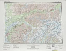 Roseburg Oregon Map United States Topographic Maps 1 250 000 Perry Castañeda Map