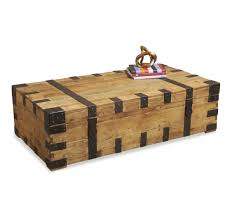 Decorative Trunks For Coffee Tables Rustic Trunk Coffee Table Decofurnish