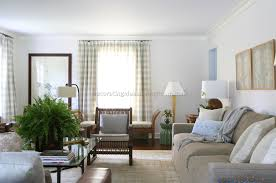 French Country Livingroom by Stunning Country Living Room Curtains Contemporary Home Design
