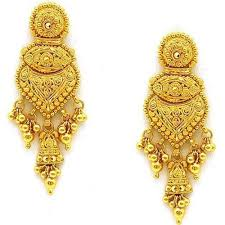 images of gold earings gold earrings at rs 23000 pair gold earrings id 6673455288