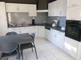 cuisine en blanc cuisine repeinte en blanc inspirational repeindre cuisine