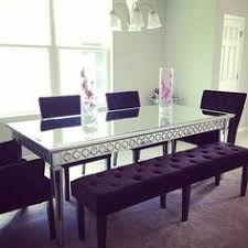 mirror dining room table our sophie mirrored dining table elegantly reflects its