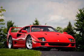 ferrari supercar ferrari f40 named the most iconic supercar in our poll the fast
