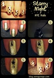 13 tutorials for star nail arts pretty designs