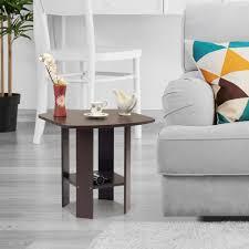 furinno simple design french oak grey end table 11180gyw bk the