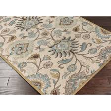 Outdoor Rugs At Lowes Soothing Palm Leaf Havanah Rectangular Nature Area Shop Palm Leaf