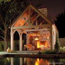 bonick landscaping outdoor fireplace and fire pit design
