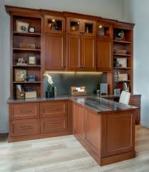 Custom Home Office Cabinets In Custom Home Offices Desks U0026 Cabinets In Denver Co