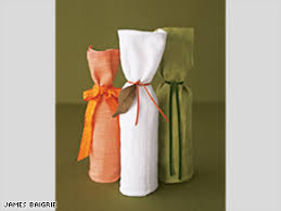 gift packaging for wine bottles get resourceful with gift wrapping cnn