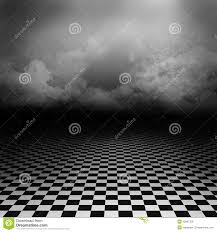 Download Black And White Floor by Background With Black And White Floor And Clouds Stock