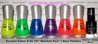 nail art stamping mania rainbow manicure with apipila super placa a