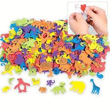express foam self adhesive animal shapes 500