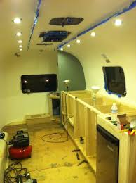 Kitchen Cabinets Construction May 2012 Airstream Office Project