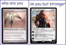 Storm Crow Meme - phyrexian dreams and storm crow memes mfw that new gideon hits