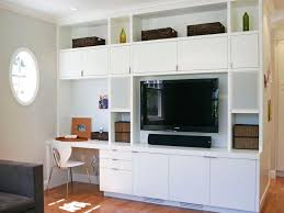 Built In Desk Ideas Wall Units Marvellous Built In Wall Cabinets With Desk Built In