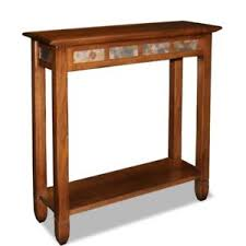 Narrow Entry Table Narrow Entry Table Oak Small Console Rustic Furniture