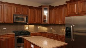 Wood Stain For Kitchen Cabinets Exellent Dark Maple Cabinets Kitchen Nice Inside Decorating Ideas