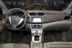 nissan philippines nissan sylphy interior at the philippines international motor show