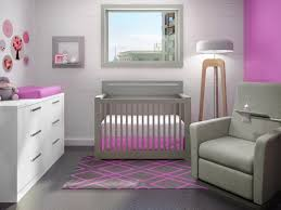 Gray Convertible Cribs by Pretty In Pink The Nest Line Milano Convertible Crib To Double