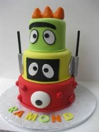 yo gabba gabba birthday cake3d cards 78 best cakes images on cake marine corps cake