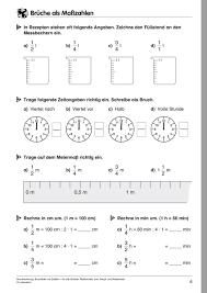 mathe brüche klasse 6 arbeitsblätter sekundarstufe i lehrerbüro