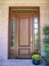 Solid Exterior Doors Solid Wood Doors Hardwood Mahogany Cherry Walnut Oak