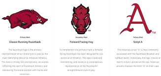 Arkansas travel logos images Brand new new identity and uniforms for arkansas razorbacks by nike png