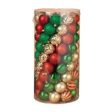 101ct shatterproof ornaments 2308340ec the home depot