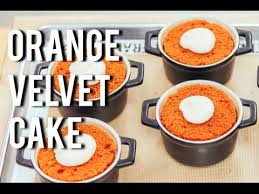 how to cake orange velvet cake cakes dessert baking