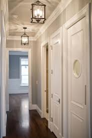 White Walls Grey Trim by Best 20 Upstairs Hallway Ideas On Pinterest Hallways Wall Of
