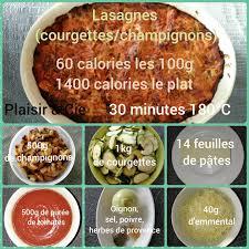 cuisine legere et dietetique lasagnes allégées aux legumes 60 calories aux 100 gr cuisine