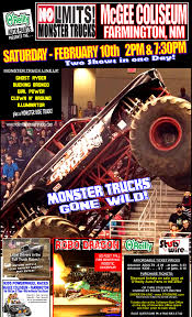 monster truck farm show checkered flag promotions news events