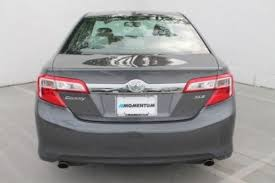 2013 toyota le v6 2013 toyota camry xle v6 toyota camry gray for sale ebay used