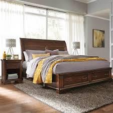 costco bed frames samson crosby king size bed frame 2 nightstands bedroom