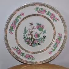 indian tree china pattern made by maddock in 3 sandwich