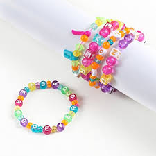 make friendship bracelet beads images Liberty imports abc beads charms friendship bracelet jpg