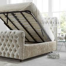 king size ottoman beds for sale in uk hessink oyster cream the