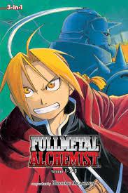 fullmetal alchemist vol 1 3 fullmetal alchemist 3 in 1 hiromu