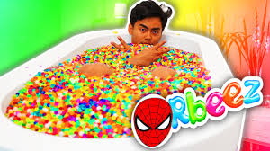 Challenge Filled With Water Orbeez Bath Challenge
