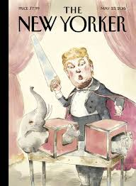 new yorker trump cover cleaving elephant business insider