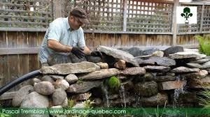 pierre pour jardin zen cascade de bassin construire une cascade de jardin en pierre