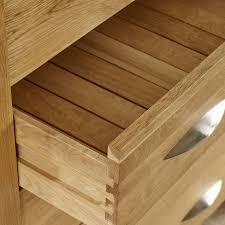 Natural Solid Wood Furniture Galway Natural Solid Oak 9 Drawer Dresser Oak Furniture Land