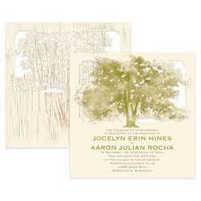 tree wedding invitations invitations by