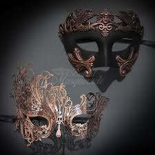couples masquerade masks couples masquerade mask his hers set gold masquerade mask