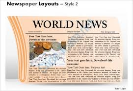 powerpoint newspaper template u2013 21 free ppt pptx potx documents