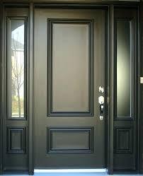 Exterior Door With Side Lights Entry Door With Sidelights Front Door With Sidelight Ideas About