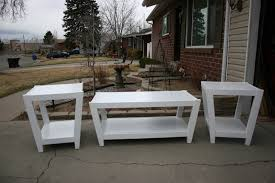 Coffee And End Table Set Whitewash Coffee Table Set Best Gallery Of Tables Furniture