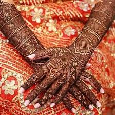 bridal mehandi designs for front and back sensod