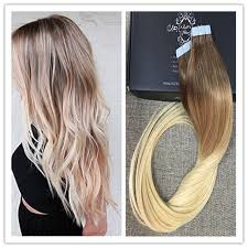 glue in extensions shine 2016 balayage ombre hair human glue hair