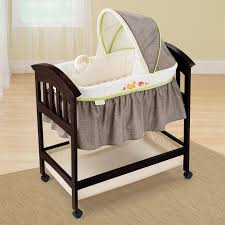Bassinet That Hooks To Bed Amazon Com Summer Infant Classic Comfort Wood Bassinet Fox And
